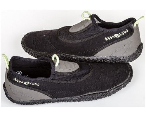 Тапки BEACHWALKER XP Black/Silver/Lime неопр. 2 мм